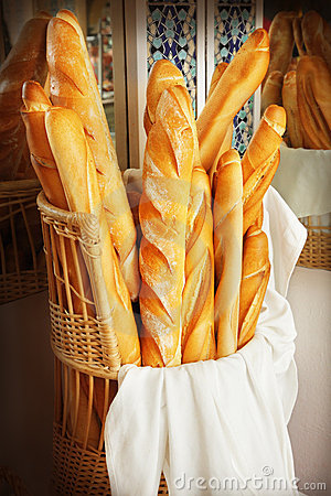 Free French Bread Royalty Free Stock Photos - 20662298