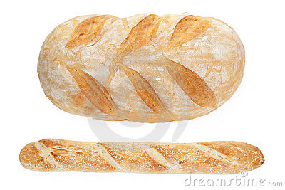 French bread and baguette