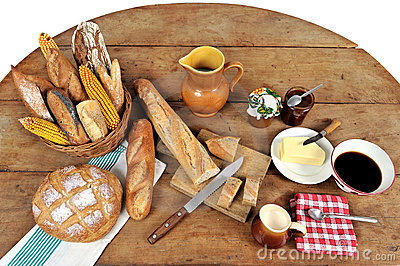 French breakfast five