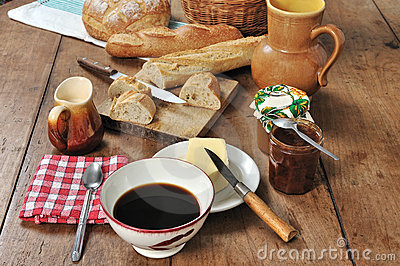 French breakfast four