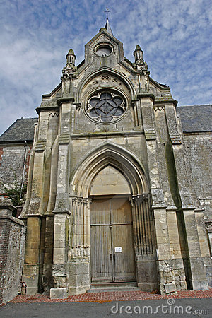 French brittany church