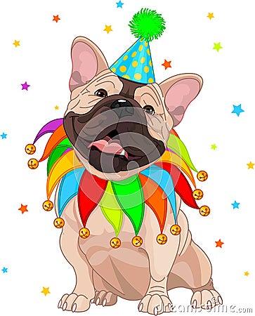 French bulldog's Birthday