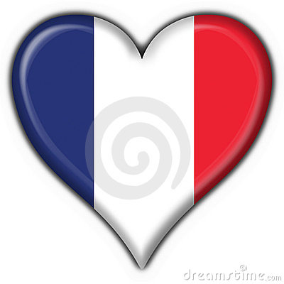 french button flag heart stock photos image 4924663 france flag clip art france flag clip art blank