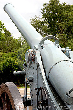 Free French Cannon (World War I) Royalty Free Stock Photos - 5511238