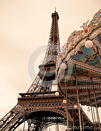 Free French Carrousel Stock Photos - 28434803