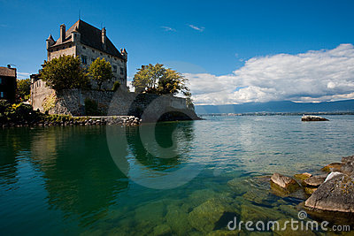 French Castle in Yvoire France