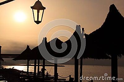 French coast sunrise