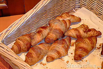 French croissants -