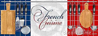 French cuisine set Kitchen utensils