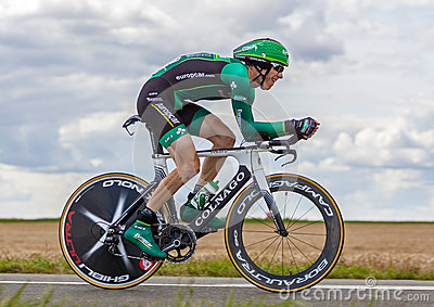 The French Cyclist Rolland Pierre Editorial Photo