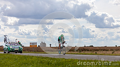 The French Cyclist Rolland Pierre Editorial Stock Photo