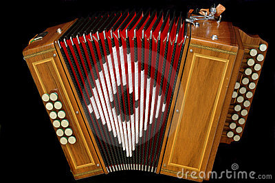 French diatonic accordion