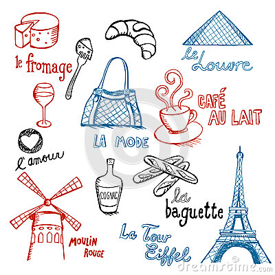 French Doodles Stock Photo Image 27392080