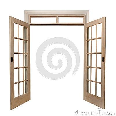 Free French Doors Royalty Free Stock Photos - 22886538