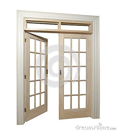 Free French Doors Royalty Free Stock Photo - 23245525