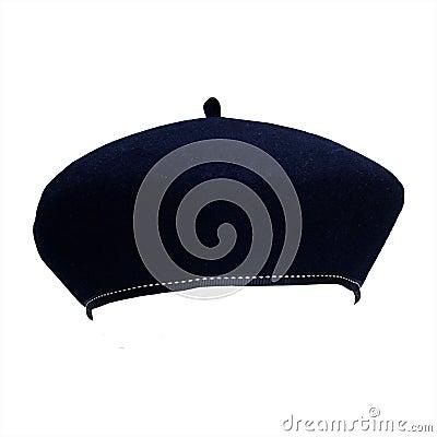 French felt beret