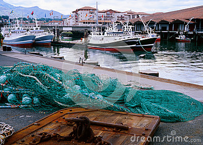 French fishing industry, St Jean de Luz, France