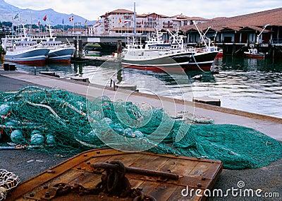 French fishing industry, St Jean de Luz, France