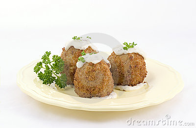 French food, croquettes