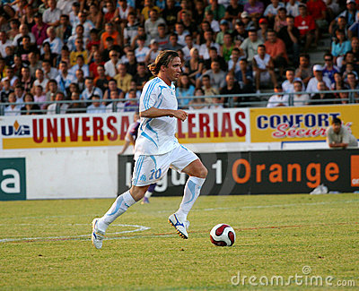 French friendly soccer match OM vs TFC Editorial Stock Photo