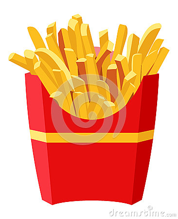 Free French Fries Royalty Free Stock Photos - 44566258