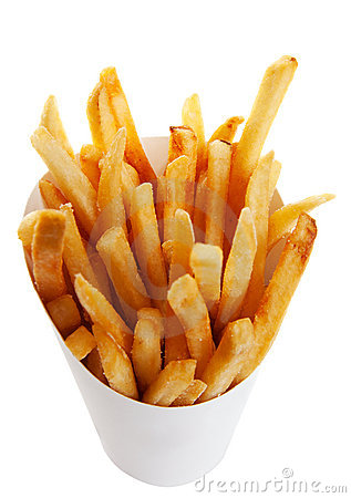 Free French Fries Stock Photography - 9701712