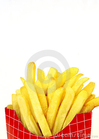 Free French Fries In Box Royalty Free Stock Image - 748786