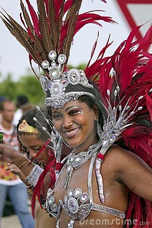 French Guiana carnival Editorial Stock Image