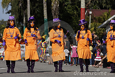 French Guiana s Annual Carnival 2011 Editorial Photo
