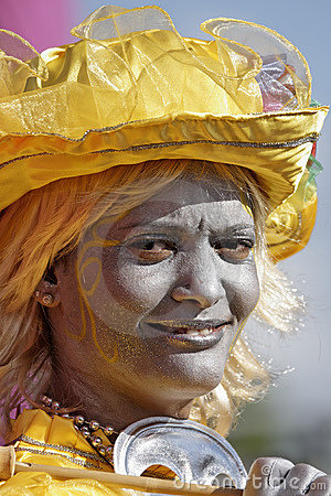 French Guiana s Annual Carnival 2011 Editorial Image
