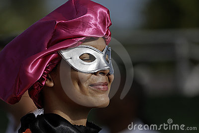 French Guiana s Annual Carnival 2011 Editorial Photography