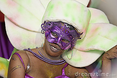 French Guiana s Annual Carnival 2011 Editorial Stock Image
