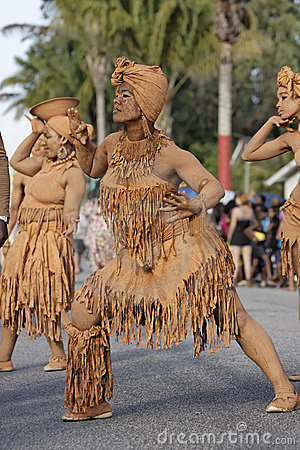 French Guiana s Annual Carnival 2011 Editorial Stock Photo