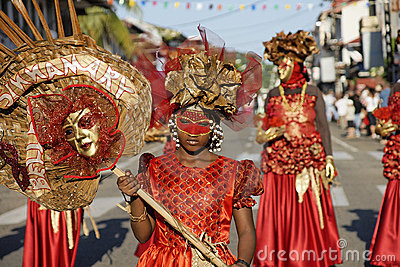 French Guiana s Annual Carnival February 14, 2010 Editorial Photography