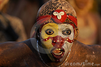 French Guiana s Annual Carnival February 14, 2010 Editorial Stock Photo