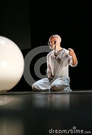 French Hip-Hop Dancer Miguel Nosibor Editorial Image