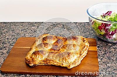home-made egg pie