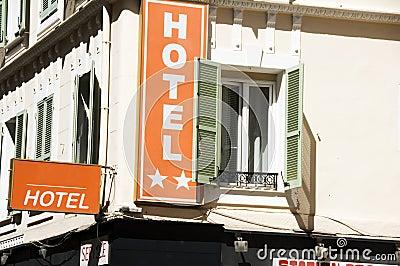 French hotel Nice France large windows