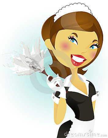 Free French Maid Series Royalty Free Stock Images - 10565019