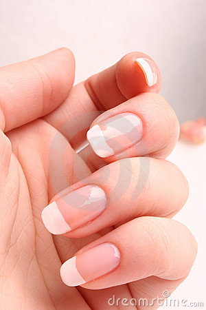 Free French Manicure Stock Image - 2325201