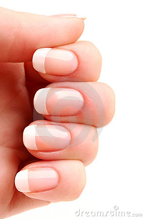 Free French Manicure Stock Photo - 2424970