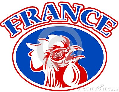 french mascot rooster france