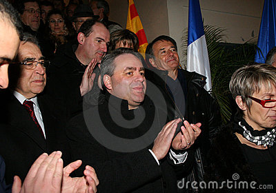 French minister s Xavier Bertrand Editorial Stock Photo