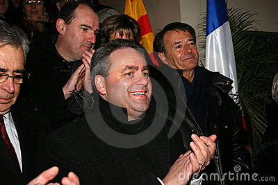French minister s Xavier Bertrand Editorial Photo