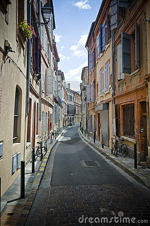 French narrow street