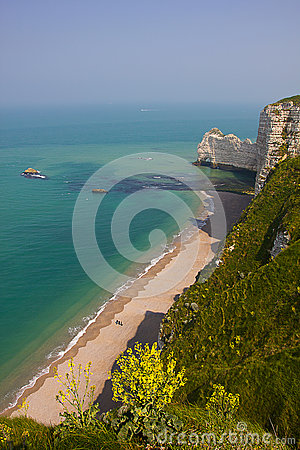 French Northern Coast landscape, Etretat