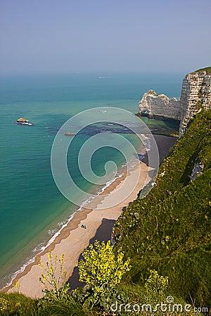 French Northern Coast landscape, Etretat