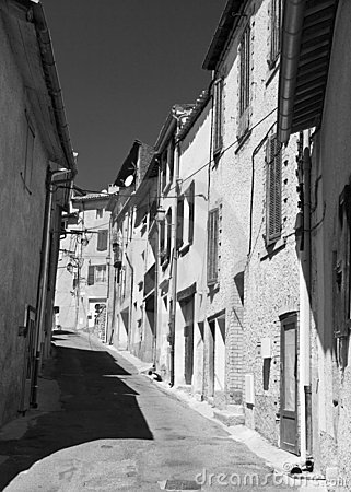 French old town street