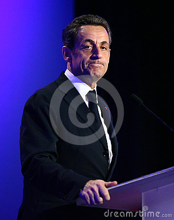 French president s Nicolas Sarkozy Editorial Photo