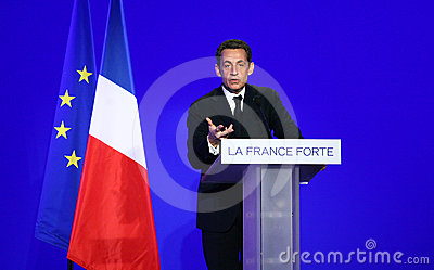 French president s Nicolas Sarkozy Editorial Photography